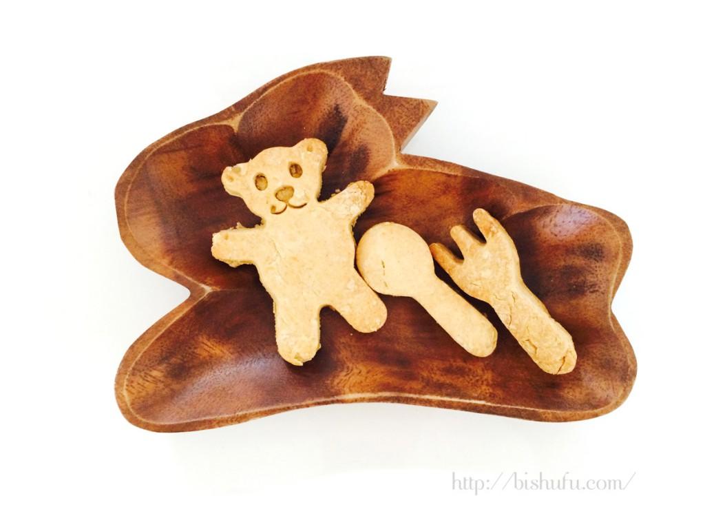 きな粉の歯固めクッキー