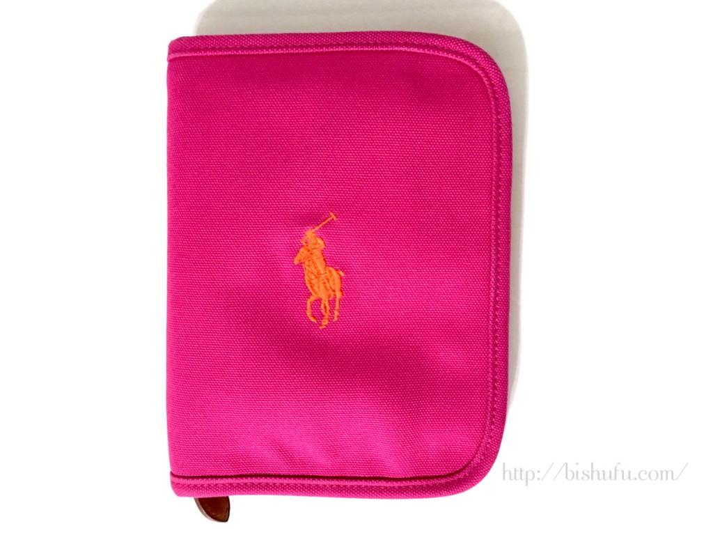 ラルフローレンの母子手帳ケース(ピンク色)