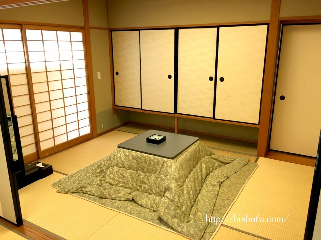こたつ付き6畳の特別客室