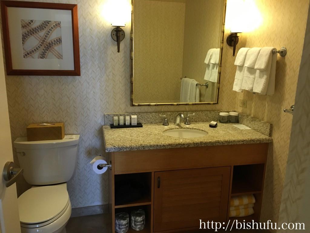エンバシースイーツホテル バストイレ