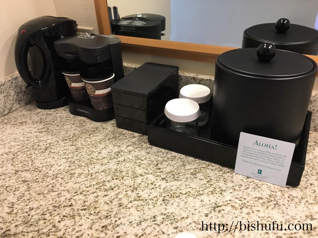 エンバシースイーツホテル コーヒーメーカー